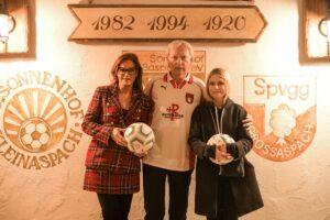 Andrea Berg mit Ehemann Uli Ferber und Tochter Lena-Maria