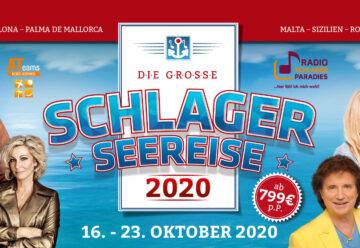 Die Schlager-Seereise 2020 – Etablierte und Newcomer