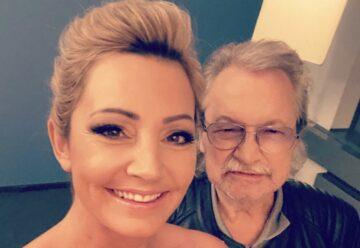 TV-Premiere: Tanja Lasch mit Papa Burkhard im Riverboat