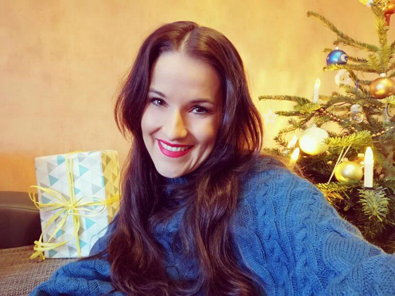 Nadine Fabielle hofft auf weiße Weihnachten!