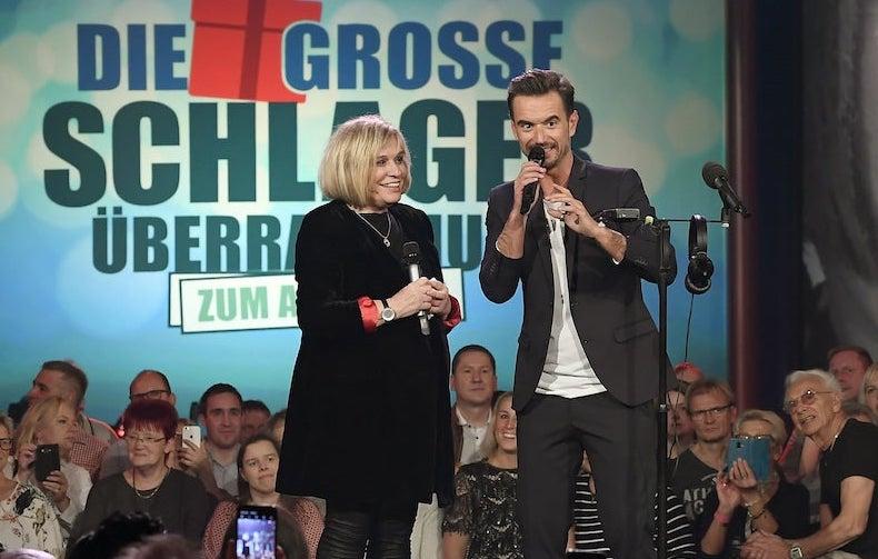 Florian Silbereisen Abschied Mary Roos