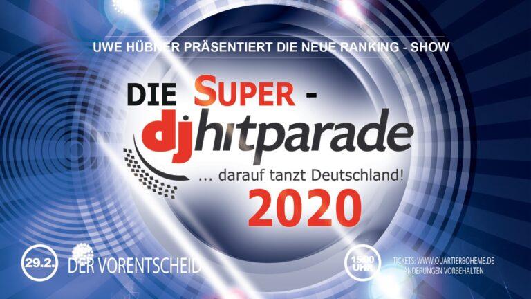 """Wir  sind dabei! – Bei der neuen """"Super-dj-hitparade"""""""