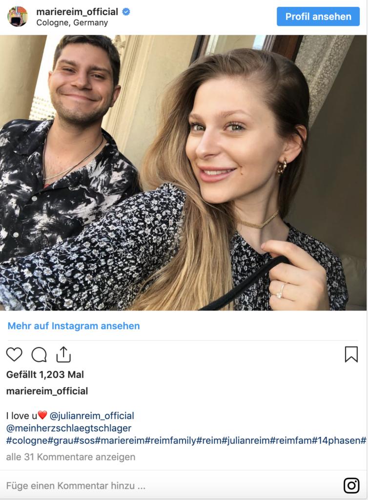 Marie Reim und Julian Reim
