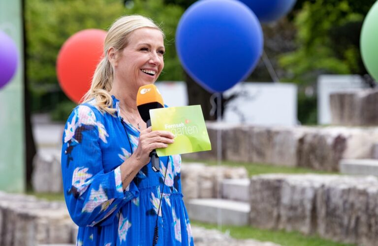Andrea Kiewel: Diese Gäste eröffnen mit ihr den ZDF-Fernsehgarten 2021