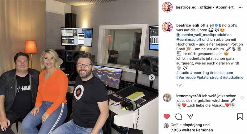 Beatrice Egli_Tonstudio_2020