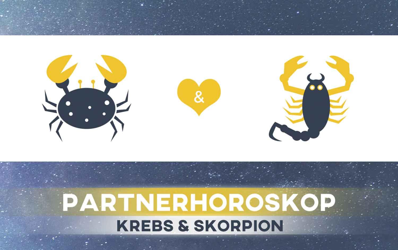 Krebs und Skorpion: Passen die Sternzeichen zusammen
