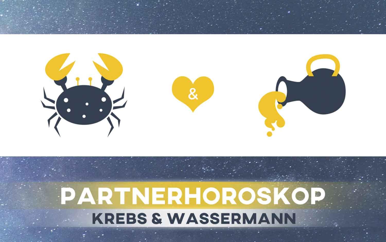 Krebs und Wassermann: Passen die Sternzeichen zusammen