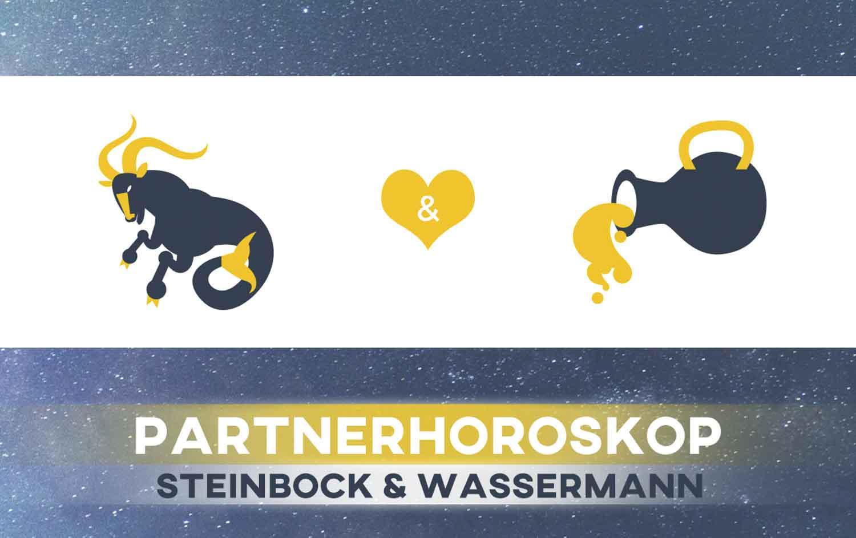 Steinbock und mann frau liebe wassermann Steinbock
