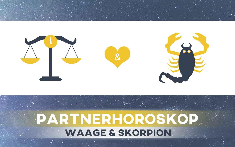 Waage und Skorpion: Passen die Sternzeichen zusammen