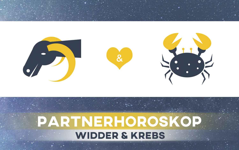 Widder und Krebs: Passen die Sternzeichen zusammen