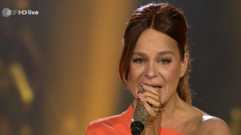 Andrea Berg: Tränenreicher Überraschungsbesuch bei Carmen Nebel!