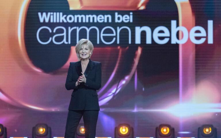 Carmen Nebel: Top-Quote zum Abschied