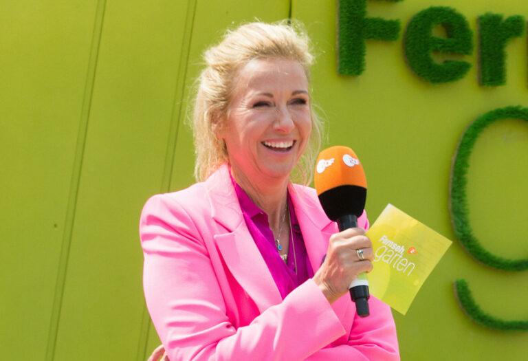 Andrea Kiewel: ZDF-Fernsehgarten nächste Woche wieder mit Publikum