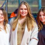 Prinzessin Ariane, Kronprinzessin Amalia und Prinzessin Alexia der Niederlande