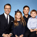 Kronprinzessin Victoria von Schweden, Prinz Daniel, Prinzessin Estelle, Oscar Carl Olof