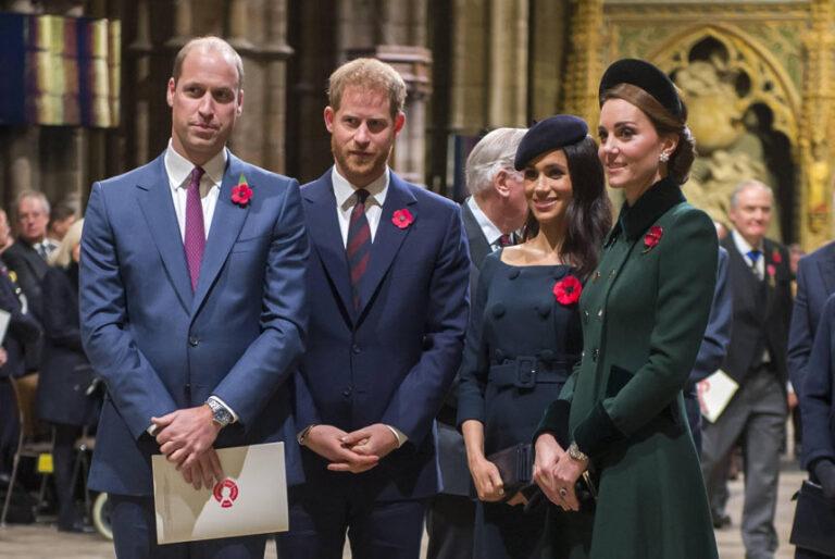 William & Kate und Harry & Meghan: Showdown im Palast
