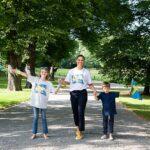 Kronprinzessin Victoria von Schweden mit ihren Kindern