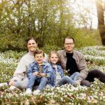 Kronprinzessin Victoria von Schweden mit Familie