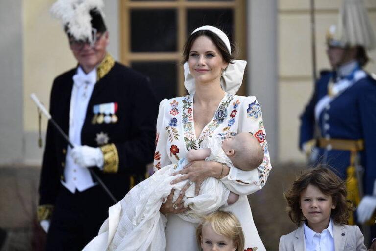 Prinzessin Sofia: Stürmische Taufe in Schweden – nur Baby Julian blieb gelassen