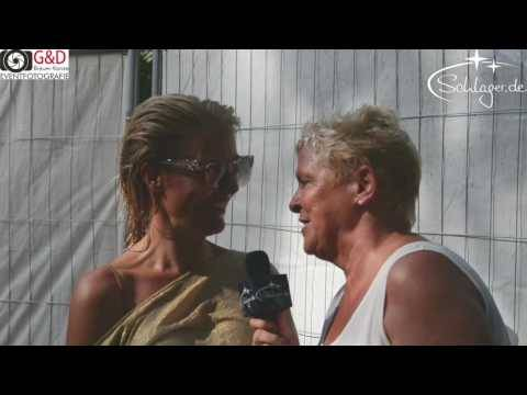 MICHELLE  Interview am 27.08.2016 bei Olé Party Dortmund