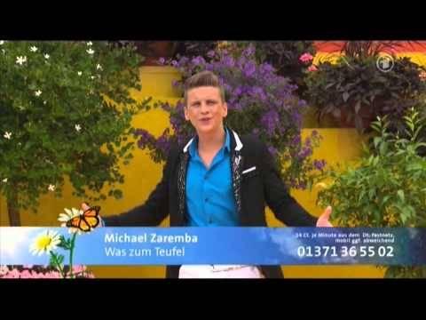 Michael Zaremba bei Immer wieder Sonntags (ARD)