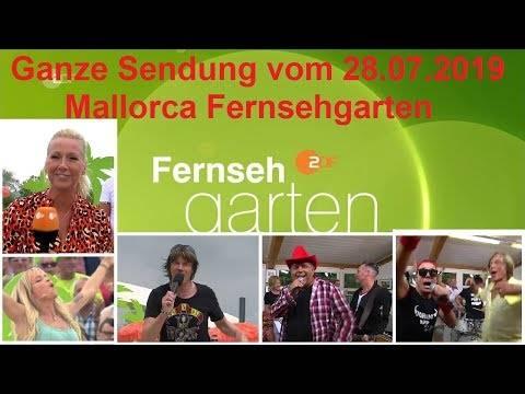 ZDF Fernsehgarten 28.07.2019 – ganze Sendung – Mallorca ist nur einmal im Jahr –