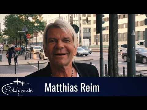 Matthias Reim kündigt Videopremiere an