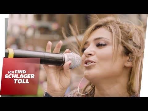 Schlagermove 2017 – Maria Voskania auf dem Truck von Media Markt
