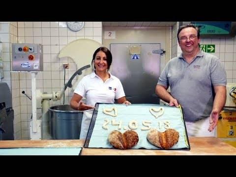 Schlagerstar Eva Luginger backt beim Elsass-Bäcker für die Schlagernacht in Velden