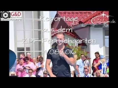 MITCH KELLER – Reportage aus dem ZDF Fernsehgarten 14.08.2016