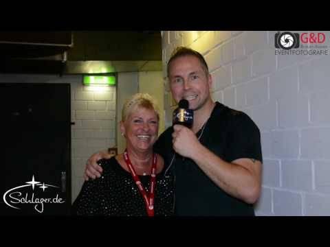 Mitch Keller Backstage bei Matthias Reim Konzert in Köln am 28.09.2016