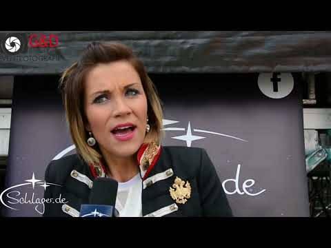 Anna Maria Zimmermann Talk bei Nürburgring Olé 19.08.2017