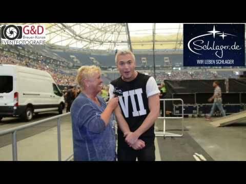 Julian David bei Olé Auf Schalke im Interview am 03.09.2016