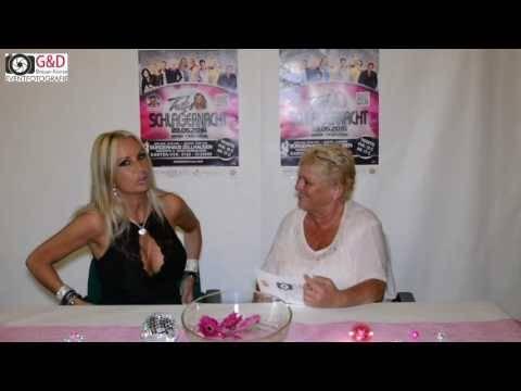Tina Iwanitzki – Interview bei Trixi´s Schlagernacht am 28.05.2016