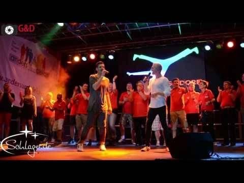 Julian David und Max Weyers beim Finale CSD Düsseldorf am 28.05.2017