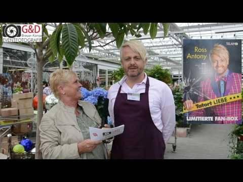 Ross Antony   Kurzes Interview am 16.06.2016 mit Veranstaltungshinweis für den 31.07.2016